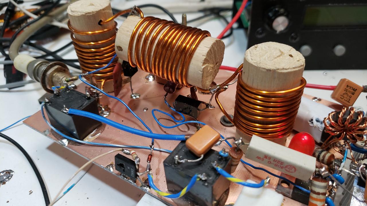 QCX QRO! 50W amp