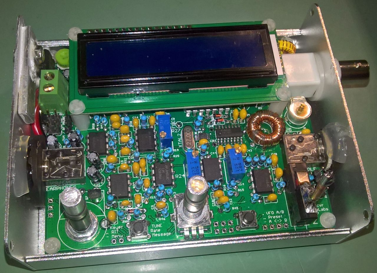 Builders Gallery Usbtousar Usb To Serial Circuit 40m Qcx By Boris 9a2ga