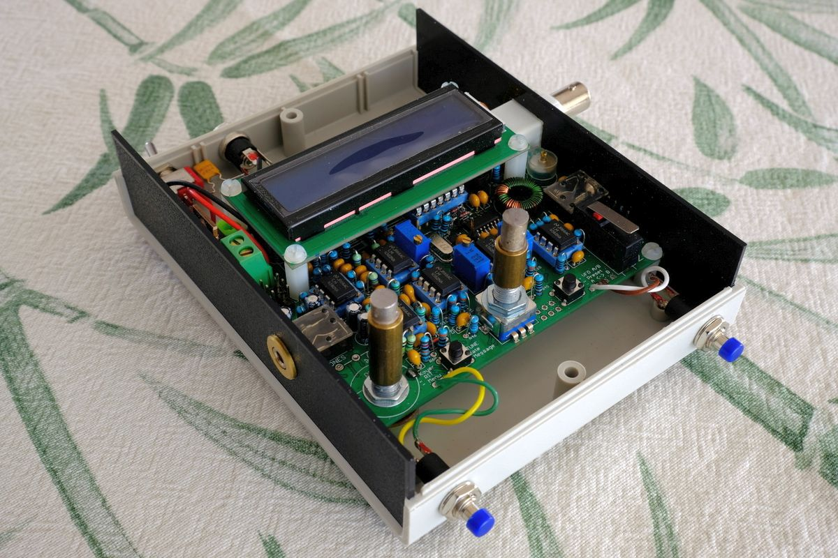 Builders Gallery Completed 145 Watt Atx Power Supply With Switch Binding Posts Qcx 40 By Georges F6dfz